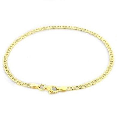 🍀 14k Solid Gold Diamond Cut Mariner Bracelet  - Kwikibuy Amazon Global