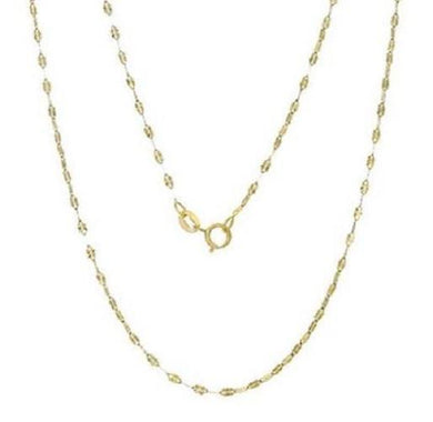 🍀 Solid 14K Gold Italian Links Necklace  - Kwikibuy Amazon Global