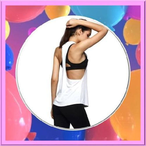 Quick-Dry-Loose-Fitness-Tank-Tops-Light-White--Buy-One-Get-Two  - Kwikibuy Amazon Global