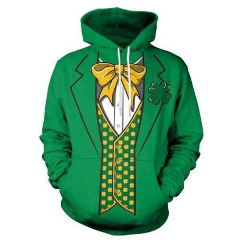 St.-Patrick's-Day-Clover Green-Hoodie  - Kwikibuy Amazon Global