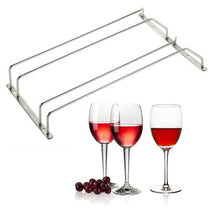 Load image into Gallery viewer, Stainless Steel Hanging Glass Stemware Row Rack  - Kwikibuy Amazon Global