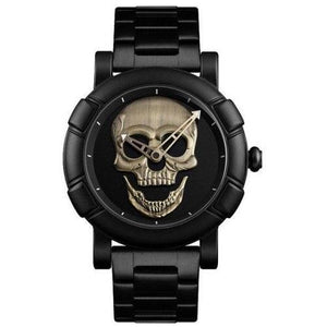 Skull Stainless Steel Water Resistant Watch (5 Colors)  - Kwikibuy Amazon Global