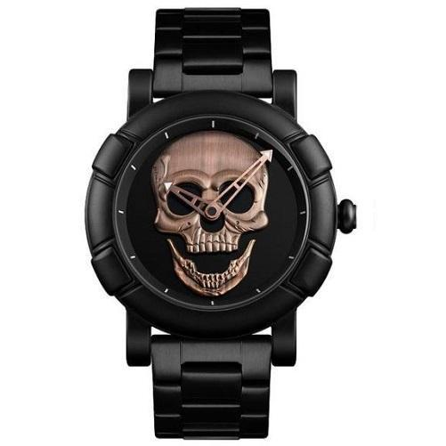 Shop-Now-Stainless-Steel-Skull-Watch-Red-Patina-Kwikibuy.com-Jewelry-All