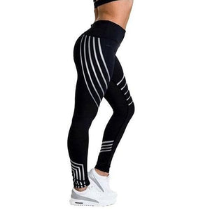Stripe Print Leggings (5 Colors - 4 Sizes)  - Kwikibuy Amazon Global