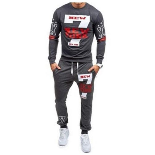 Stylish Sweat Pants Set (Dark Grey) - Kwikibuy Amazon