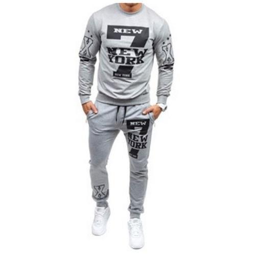 Stylish Sweat Pants Set (Light Grey) - Kwikibuy Amazon
