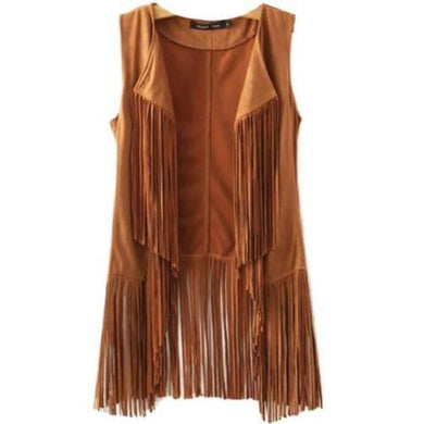 🍀 Suede Fringe Vest, Satchel or Skirt (3 Sizes)  - Kwikibuy Amazon Global
