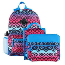 Load image into Gallery viewer, Backpack & Accessories 6-piece Set (Tribal)  - Kwikibuy Amazon Global