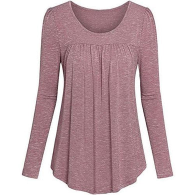 Tunic-Pleated-Top-Pink  - Kwikibuy Amazon Global
