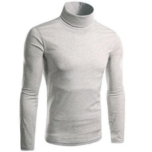 Turtle Neck Pullover Sweater (Light Grey)  - Kwikibuy Amazon Global