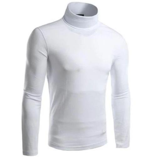 Turtle Neck Pullover Sweater (White)  - Kwikibuy Amazon Global