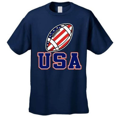 USA Football Flag T Shirt (Navy)  - Kwikibuy Amazon Global