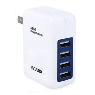 USB 4 Ports Wall Charger U.S. or EU  - Kwikibuy Amazon Global