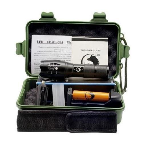 Tactical Flashlight - Kit (Black)  - Kwikibuy Amazon Global