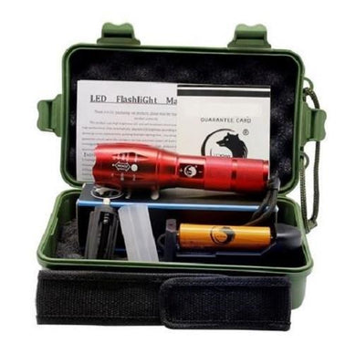 Flashlight - Kit (Red)  - Kwikibuy Amazon Global
