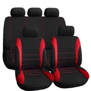 9 Piece Car Seat and Steering Wheel Covers (3 Colors) - Kwikibuy Amazon Global