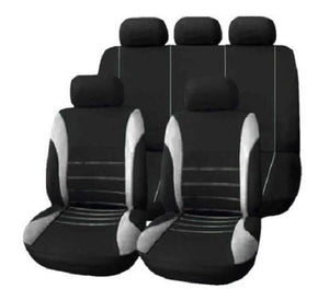 9-Piece-Car-Seat-and-Steering-Wheel-Covers-Blue  - Kwikibuy Amazon Global