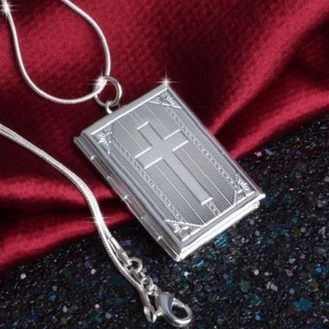 925 STERLING SILVER PICTURE LOCKET $20 (CROSS) - Kwikibuy.com™® Official Site