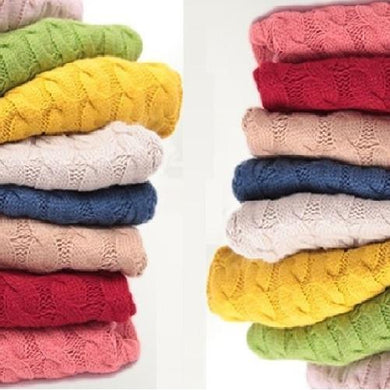 Warm Knitted Pullover Sweaters (8 Colors)  - Kwikibuy Amazon Global