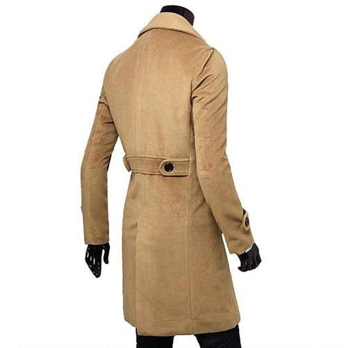 Trench-Coat-Camel  - Kwikibuy Amazon Global