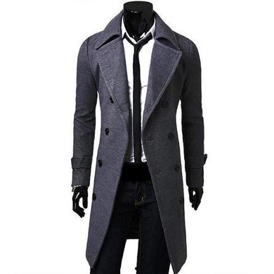 Trench-Coat-Dark-Grey  - Kwikibuy Amazon Global