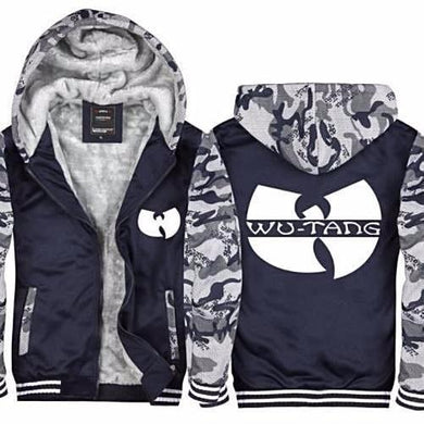 Wu Tang Camouflage Thick Fleece Hoodie (2 Colors - 8 Sizes)  - Kwikibuy Amazon Global