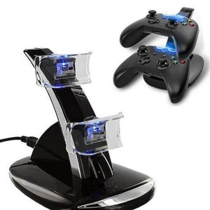Xbox One Wireless Controller LED Charger Dock Station for 2 Controllers  - Kwikibuy Amazon Global