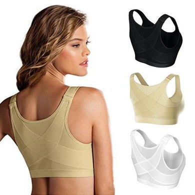 Fitness Breathable Posture Corrector Lift Up Bra (3 Colors - 8 Sizes) - Kwikibuy Amazon Global 3 Colors: White, Khaki or Black Material: 90% nylon