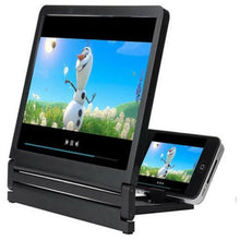 Load image into Gallery viewer, Mobile Phone HD Amplifier Screen (Black)  - Kwikibuy Amazon Global
