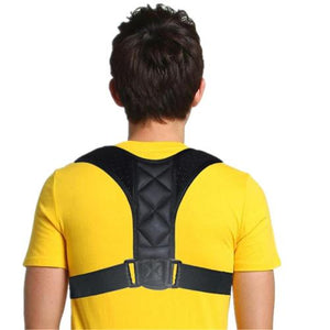 Adjustable Posture Correction Upper Back Support Brace  - Kwikibuy Amazon Global