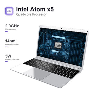 Windows 10 Intel Atom X-5 Quad Core 15.6 Inch Notebook Laptop  - Kwikibuy Amazon Global