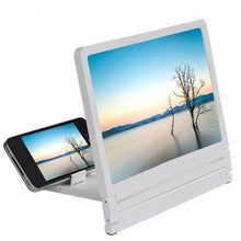 Load image into Gallery viewer, Mobile Phone HD Amplifier Screen (White)  - Kwikibuy Amazon Global