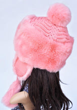 Load image into Gallery viewer, Rabbit Fur Bomber Hat with Ears  - Kwikibuy Amazon Global