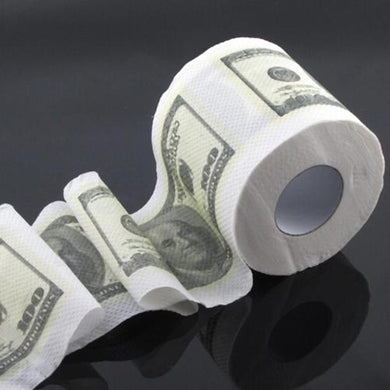 👻 $100 Bill Triple Ply Toilet Paper  - Kwikibuy Amazon Global Online S Hopping Mall Material: 100% pure paper Triple Ply for extra absorption Delivery