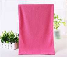 Load image into Gallery viewer, Anti-bacterial Quick Dry Towel Set (6 Colors) - Kwikibuy Amazon Global Material: Ultra soft microfiber 6 Colors: Red pink purple khaki green or blue Quantity 2