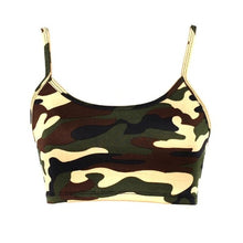 Load image into Gallery viewer, Camouflage Crop Top (3 Colors - 4 Sizes) - Kwikibuy Amazon Global