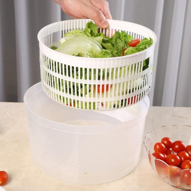 Salad Spinner  - Kwikibuy Amazon Global Online S Hopping Mall Special features Modernly clean your salad vegetables more efficiently Easily mix salad dressings