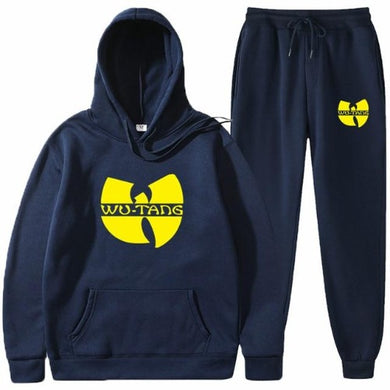 Wu Suit (12 colors - 6 sizes)  - Kwikibuy Amazon Global Online S Hopping Mall Small to 3X-Large Big pocket pull over hoodie Belt string pants Thickness: Fleece