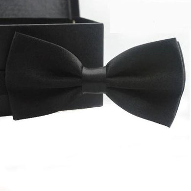 Solid Color Adjustable Classic Bow Tie (11 Colors)  - Kwikibuy Amazon Global