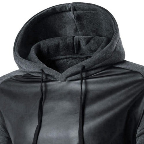 Pullover Hoodie $34.99 (Dark Grey Close Up View) - Kwikibuy.com™® Official Site~Free Shipping