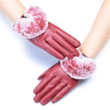 Load image into Gallery viewer, Leather and Rabbit Waterproof Gloves (3 Colors)  - Kwikibuy Amazon Global