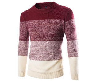 Fashion Pullover Long Sleeve Sweater (Red)  - Kwikibuy Amazon Global