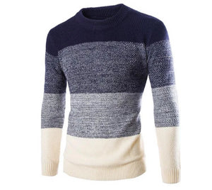 Fashion Pullover Long Sleeve Sweater (2 Colors - 4 Sizes)  - Kwikibuy Amazon Global