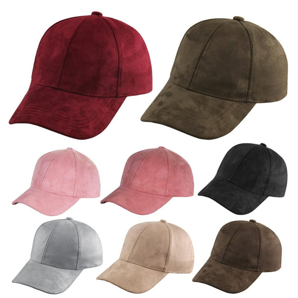 Suede Snapback Cap (8 Candy Colors) - Kwikibuy Amazon