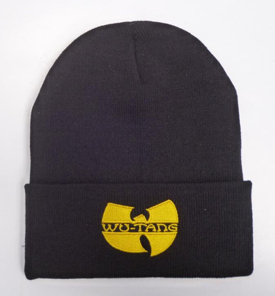 Shop-Now-Wu-Tang-Skully-Black-and-Yellow-Kwikibuy.com-Hat-Cap-Outer-wear