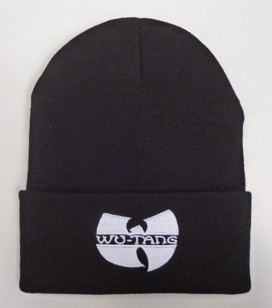 Shop-Now-Wu-Tang-Skully-Black-and-White-Kwikibuy.com-Hat-Cap-Outer-wear