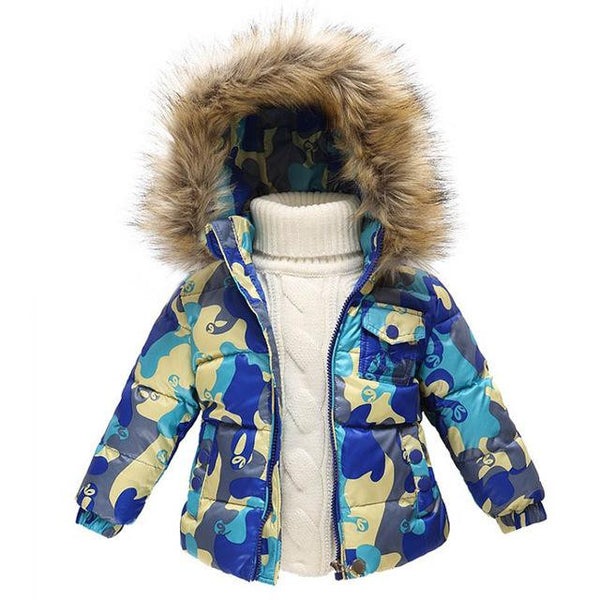 Down Snow Jackets $35 (Blue Mix Camouflage) - Kwikibuy.com™® Official Site