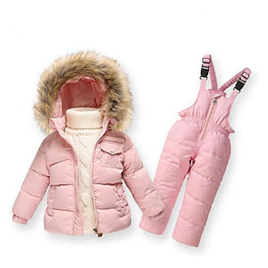 Down-Snow-Jacket-Pink-Mix-Camouflage  - Kwikibuy Amazon Global