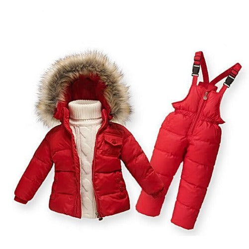 Down-Snow-Suits-with-Jacket-Red  - Kwikibuy Amazon Global