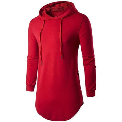 Long Hoodie T-Shirt (5 Sizes - 5 Colors)  - Kwikibuy Amazon Global